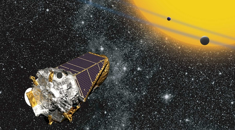 The Kepler spacecraft (Image: NASA)