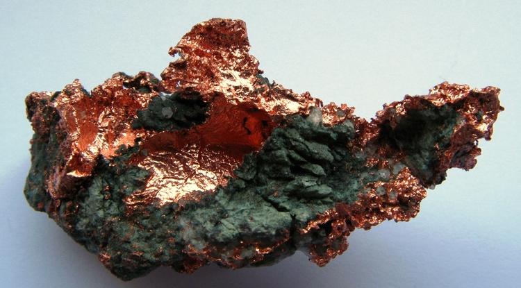 Native copper (Image credit: Wikimedia)