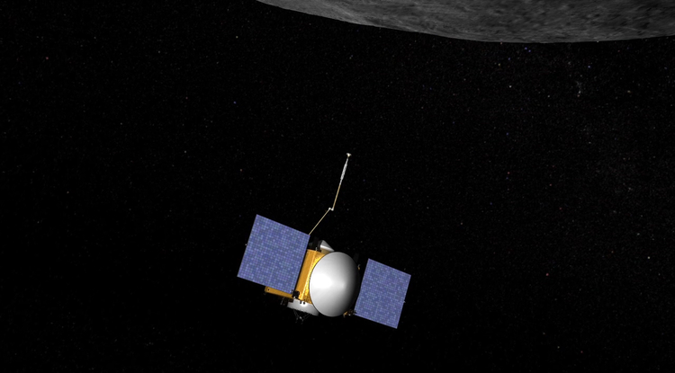 The UA-led OSIRIS-REx mission is poised to send a spacecraft to potentially hazardous asteroid, scoop up a sample and bring it back to Earth. Such pristine material left over from the the formation of our solar system can reveal clues about how Earth formed and possibly even how life came about. (Image: NASA/GSFC/The University of Arizona)