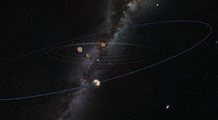 Risultati immagini per UA Scientists and the Curious Case of the Warped Kuiper Belt
