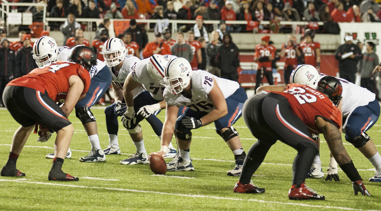 Arizona won last week against Utah, 34-24. (Photo courtesy of Arizona Athletics)