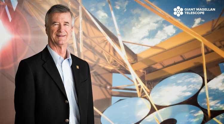 Robert Shelton, who served as the UA's 19th president from 2006 until 2011, will lead the Giant Magellan Telescope Organization behind the development of the world's largest telescope. (Image: GMTO)