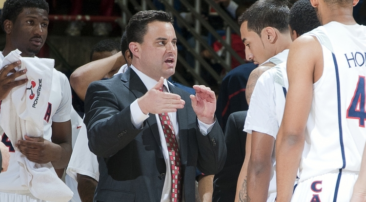 Sean Miller works with the team.