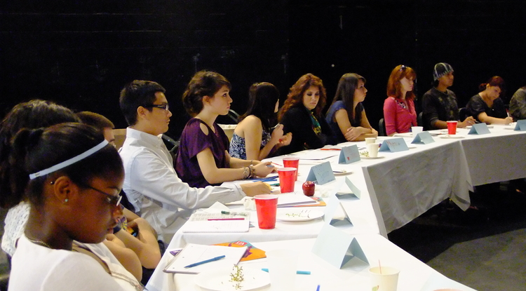 Through a collaboration with Tucson area schools, UApresents staff engage high school students in creative writing projects around the very shows that are part of the organization's annual calendar. (Photo courtesy of UApresents)