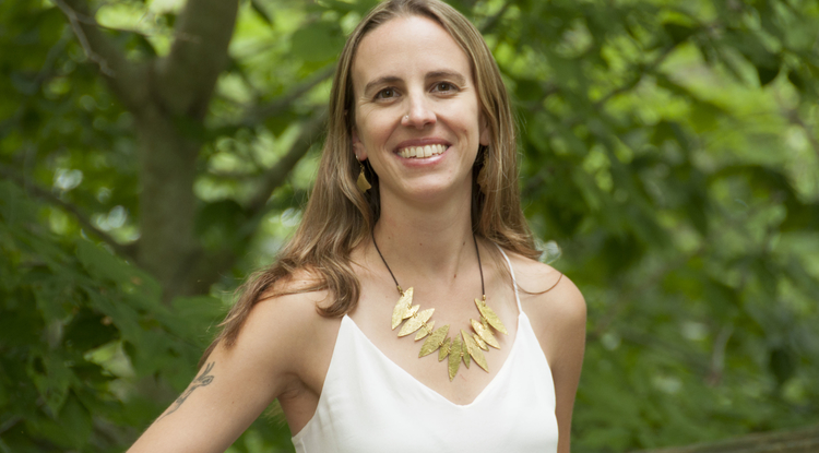 """Jessica Tierney: """"The need to understand how the Earth's climate responds to higher levels of greenhouse gases has never been more pressing."""" (Photo © Dan Griffin)"""