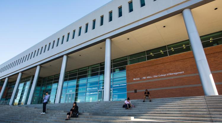 McClelland Hall at the UA's Eller College of Management (Photo: FJ Gaylor)