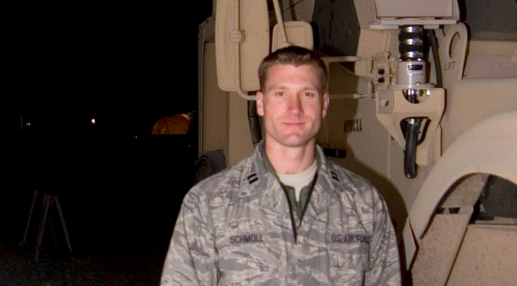 During his years of service, UA medical school student Ryan Schmoll spent time learning Arabic, controlling nuclear weapons and taking on leadership roles stateside and in combat zones.