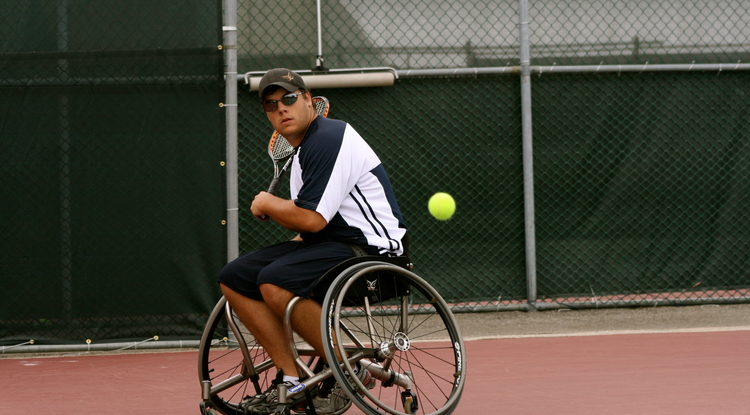 Noah Yablong will play for Team USA in the 2012 Paralympic Games. (Photo courtesy of Noah Yablong)
