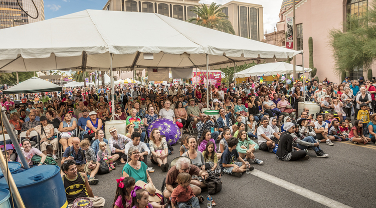Tucson Meet Yourself draws 120,000 attendees every year to downtown Tucson for food, music, dance, and folk arts. (Photo: Steven Meckler)