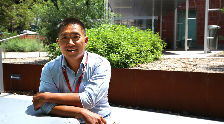Associate professor of neurology Rui Chang. (Photo: Alison Mairena/Tech Launch Arizona)