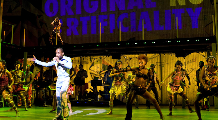 The musical Fela!, which is based on the life of the late Nigerian singer Fela Kuti, will be on stage several nights in April 2013. (Photo courtesy of UApresents)