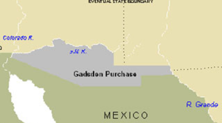 University of Arizona Hosts Gadsden Purchase Conference | UANews on alaska map, columbia river map, hawaii map, compromise of 1850 map, charleston map, magdalena de kino map, treaty of 1818 map, louisville purchase map, stephen austin map, mormon trail on a usa map, gadson purchase map, fort sumter map, texas annexation map, convention of 1818 map, great plains map, oregon country map, san francisco map, 13 colonies map, oregon territory map, republic of texas map,