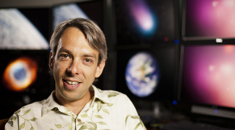 Olivier Guyon has been fascinated with the stars and planets since childhood. (Photo: MacArthur Foundation)