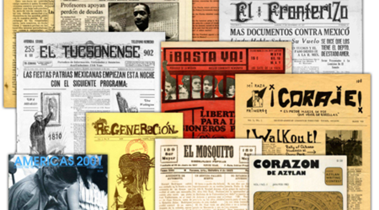 "UA librarian Chris Kollen said that because the newly digitized collection includes eight newspapers published in Tucson from 1882 to the 1970s, people will be able to get ""a clearer picture of the Mexican American community in Tucson."" (Photo courtesy of the UA Libraries)"