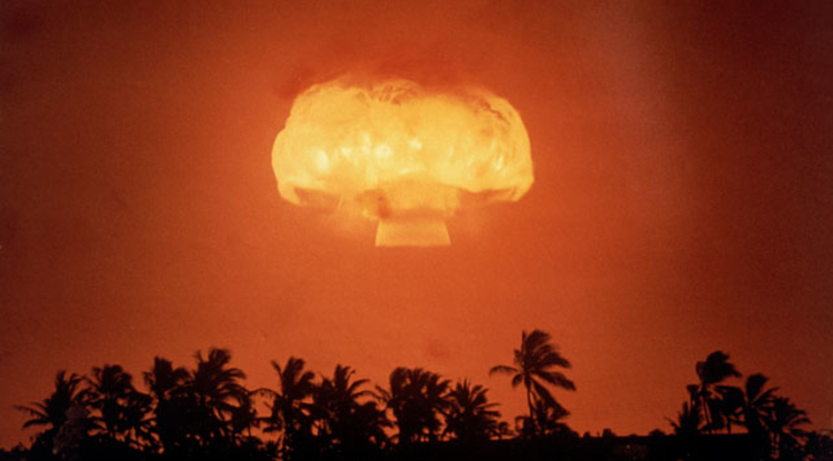 Between 1945 and 1963, hundreds of above-ground nuclear blasts took place around the world. (Photo: Wikimedia Commons)