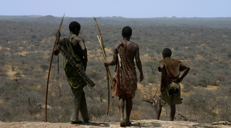 The Hadza people, in north-central Tanzania, are among the last hunter-gatherers on Earth. (Photo: Brian Wood)