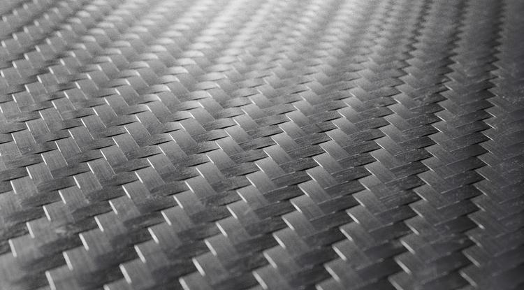 Carbon fiber material.