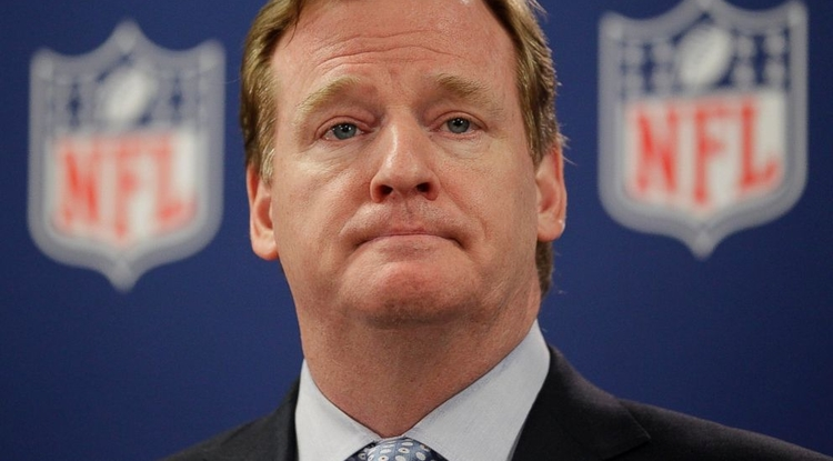 Commissioner Roger Goodell has been at the center of a season's worth of controversy in the NFL.