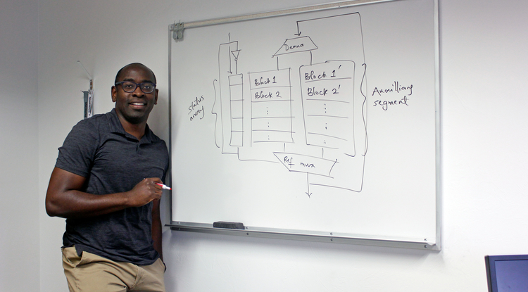 """My research explores new ways to take advantage of the cache's positive qualities while mitigating its negative qualities,"" said UA electrical and computer engineering professor Tosiron Adegbija."