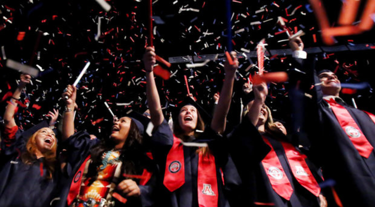The UA 2014 spring commencement celebration will be held at Arizona Stadium on May 17.