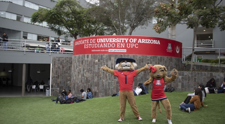 The university's first microcampus in Latin America was University of Arizona Lima at Universidad Peruana de Ciencias Aplicadas.