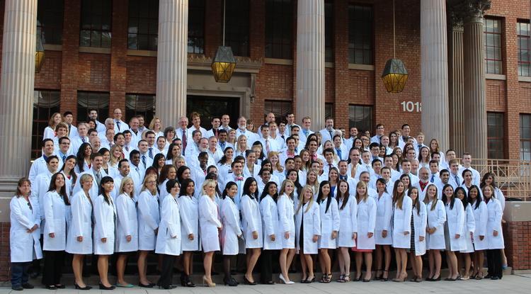 Future Doctors Receive White Coats Uanews