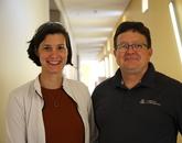 Colleen Janczak and Craig Aspinwall. Photo: Paul Tumarkin/Tech Launch Arizona