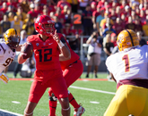 ASU tried four successive running plays near the goal line but was denied by the Wildcats.