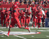 A critical play for the UA came just before Nick Wilson's run, when quarterback Anu Solomon connected with receiver David Richards for a 30-yard reception up the sideline.