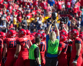 The Wildcats claimed the Pac-12 South title won by ASU in 2013.