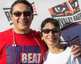 UA alumnus Nathan Federico with his mother, Jackie Federico-Lopez.