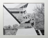 """Levels,"" presented as graphite on paper by Laura Perry."