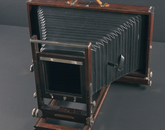 A 7- by 17-inch banquet camera in the Ansel Adams Archive