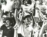 Arizona Stadium fans cheer on their Wildcats.