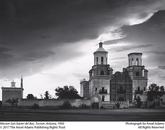 "Adams took ""Mission San Xavier del Bac, Tucson, Arizona"" in 1950."