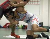 Wrestling demands mental and physical toughness.