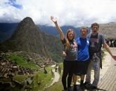 UA alumnus Tyler Goodwillie captures the Wildcat spirit at Machu Picchu in Peru.
