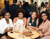 The event was also held to support multicultural alumni scholarship recipients and provide networking opportunities with industry professionals.