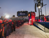 It's showtime! The UA's 154th Commencement is about to begin. (Photo: John de Dios/UANews)