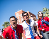 Today's Homecoming events attract tens of thousands of exuberant participants.