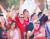 Today's games are widely televised, so Wildcats fans throughout the country can root for their team.