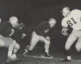 The Arizona football team took Idaho 13-6 in a home game during the 1951 season.