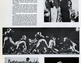 Sports-related page taken from the 1962 yearbook.