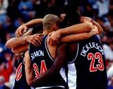 The men's basetball championship team in 1997.