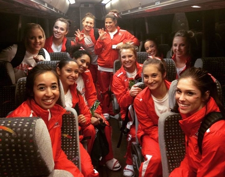 The season is underway for members of the Wildcats gymnastics team.