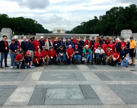 To date, nearly 160,000 veterans have been flown to Washington, D.C., since the Honor Flight was established in 2005. (Photo: Michael Marks)