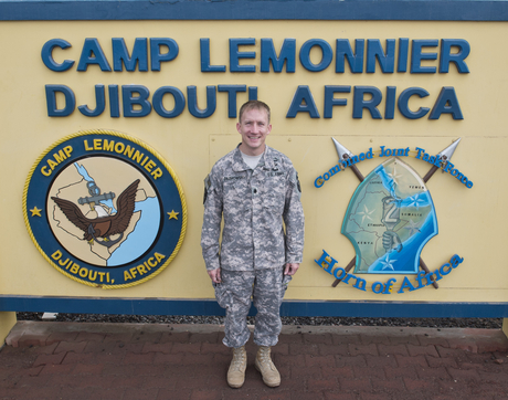 Matthew F. Dabkowski was deployed to Camp Lemonnier, a U.S. Naval Expeditionary Base located at Djibouti's international airport, while pursuing his doctorate. It is the only permanent U.S. military base in Africa and home to the Combined Joint Task Force - Horn of Africa of the U.S. Africa Command.