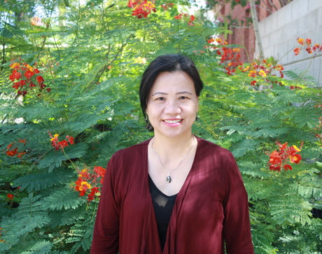 UA research professor Minying Cai of the Department of Chemistry and Biochemistry (Photo courtesy of Minying Cai)