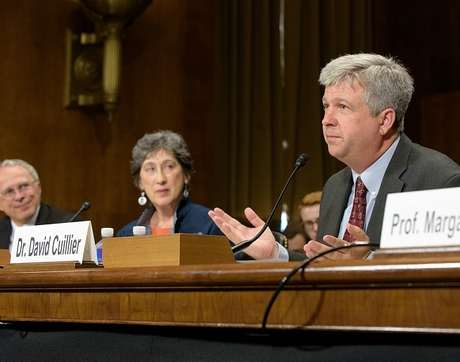 """While FOIA has led to thousands of important issues coming to light, the law is broken. Information denials are on the increase and most journalists avoid it altogether because of the hassles and delays that can drag on for years,"" says UA School of Journalism director David Cuillier. (Photo courtesy of Senate Judiciary Committee)"
