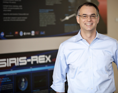 The UA's Dante Lauretta first began work with his mentor, the late Michael Drake, on the OSIRIS-REx mission in 2004. (Photo: John de Dios/UANews)